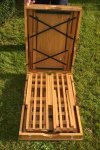 opvouwbaar picknick tafel voor in oldtimer en rijtuig